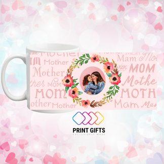 чаша със снимка за мама