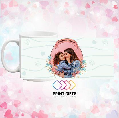 Чаша със снимка и надпис за Мама