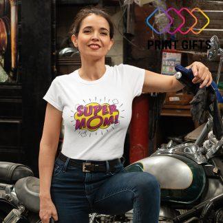 тениска с надпис за Мама