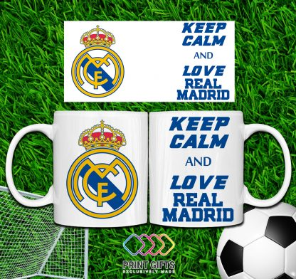 ЧАША REAL MADRID KEEP CALM