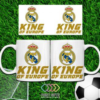 ЧАША REAL MADRID KING OF EUROPE