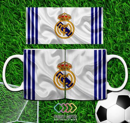 ЧАША REAL MADRID WHITE BLUE