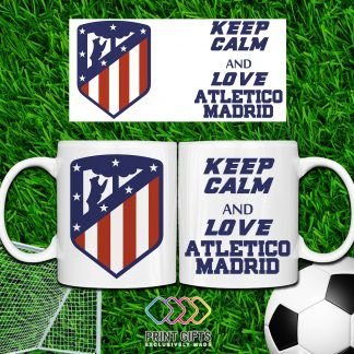Чаша ATLETICO MADRID KEEP CALM