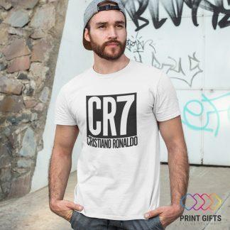 Тениска CRISTIANO RONALDO LOGО 2