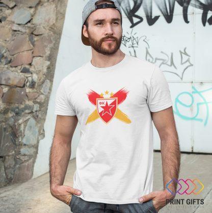 Тениска CRVENA ZVEZDA LOGO X