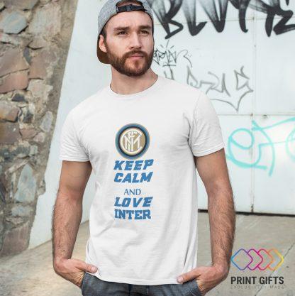 Тениска INTER LOGO KEEP CALM