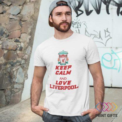 Тениска LIVERPOOL LOGO KEEP CALM