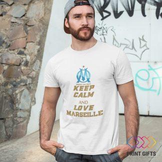 Тениска MARCEILLE LOGO KEEP CALM