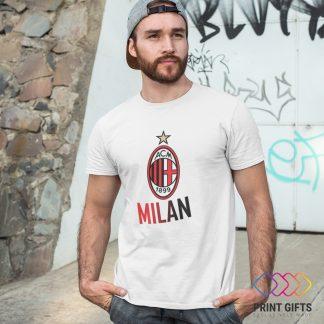 Тениска MILAN LOGO NAME