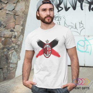 Тениска MILAN LOGO X