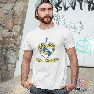 Тениска REAL MADRID I LOVE