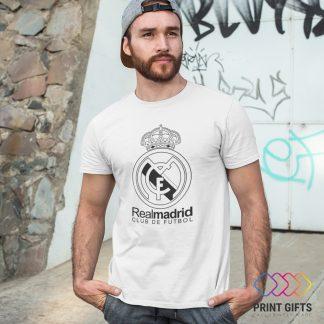 Тениска REAL MADRID LOGO BLACK