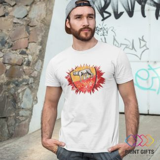 Тениска ROMA LOGO SHAPE