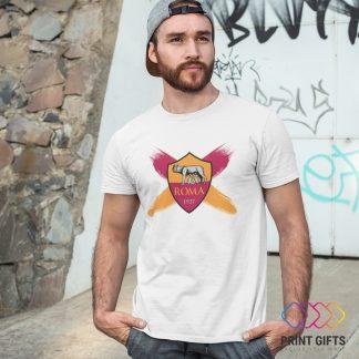 Тениска ROMA LOGO X