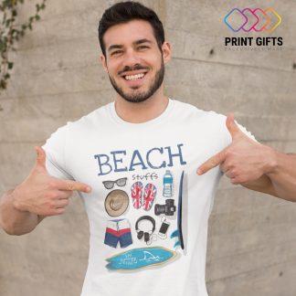 Мъжка Тениска BEACH STUFF