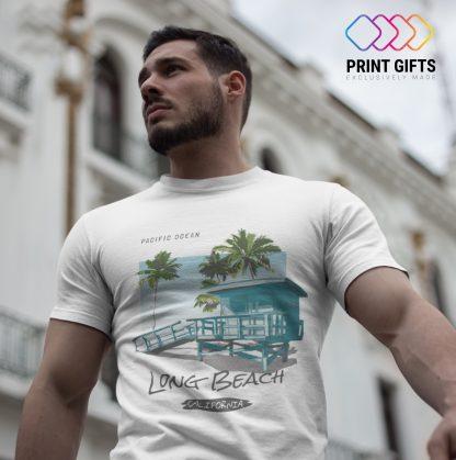 Мъжка Тениска LLONG BEACH