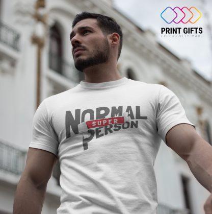 Мъжка Тениска NORMAL SUPER PERSON