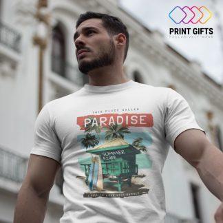 Мъжка Тениска PARADISE