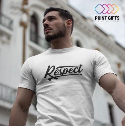 Мъжка Тениска RESPECT BLACK