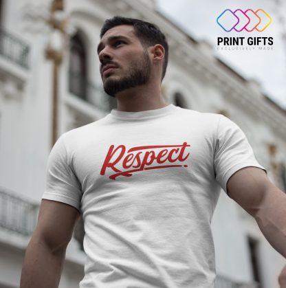 Мъжка Тениска RESPECT RED 2