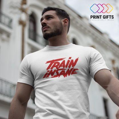 Мъжка Тениска TRAIN INSANE RED 2