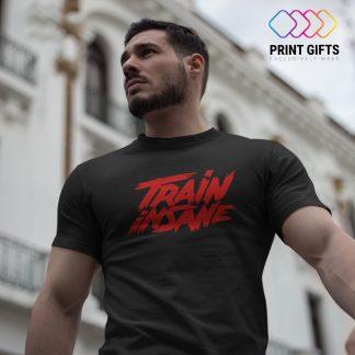 Мъжка Тениска TRAIN INSANE RED