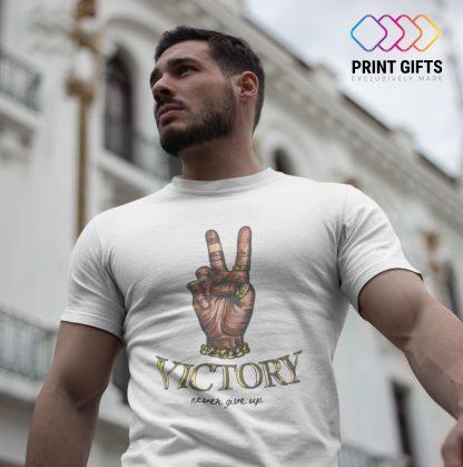Мъжка Тениска VICTORY HAND