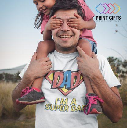 Тениска Super dad